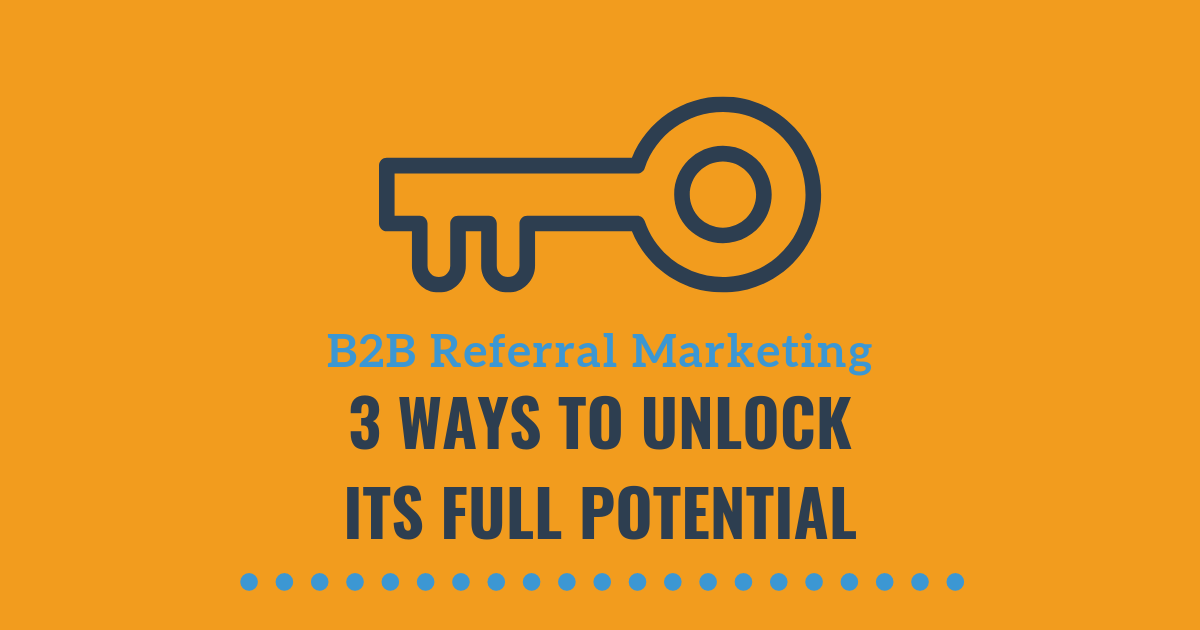 b2b referral marketing blog banner image