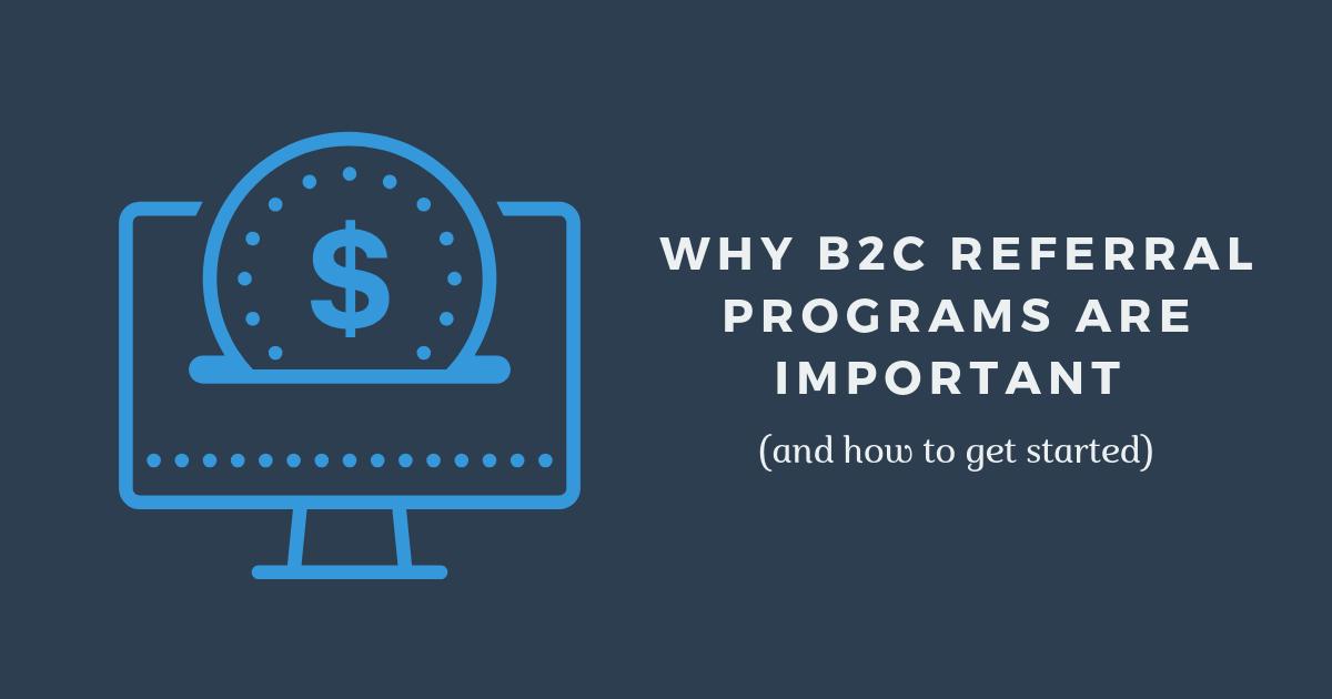 B2C referral programs banner