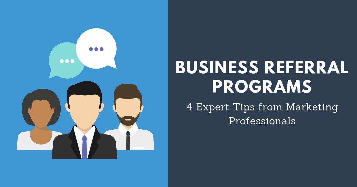 Business Referral Programs Blog Banner
