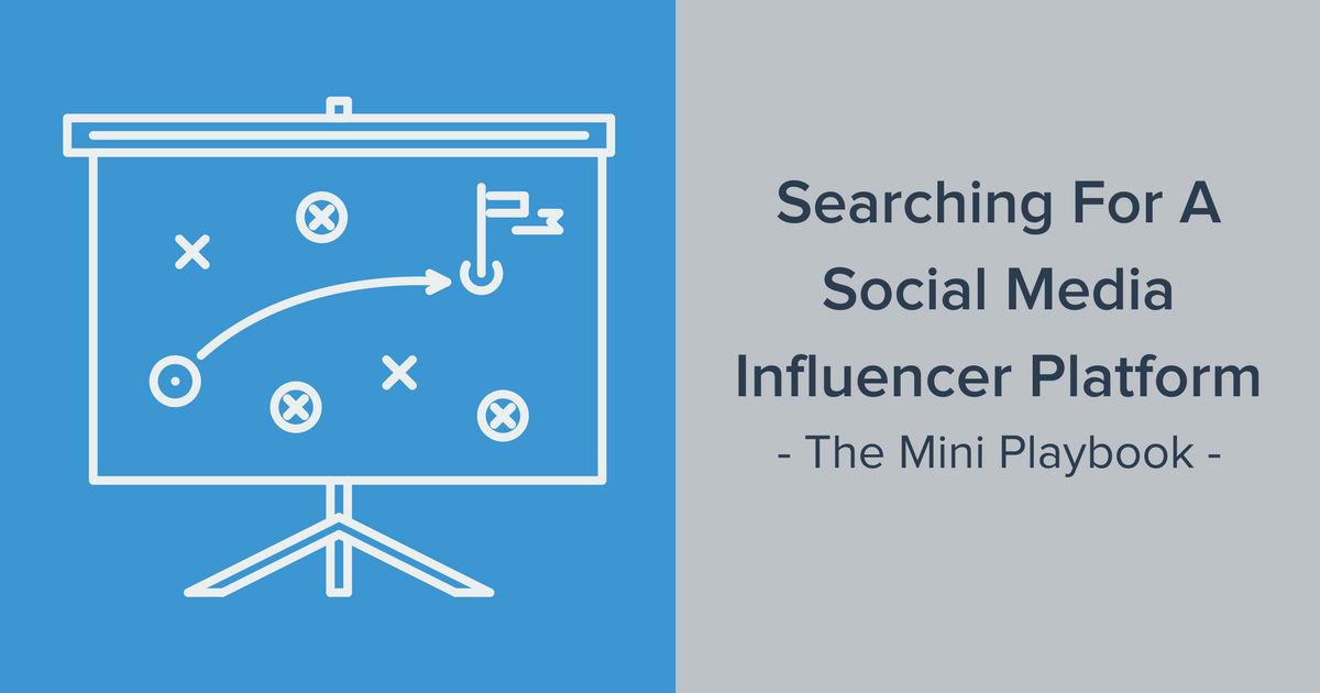 Social media influencer platform banner