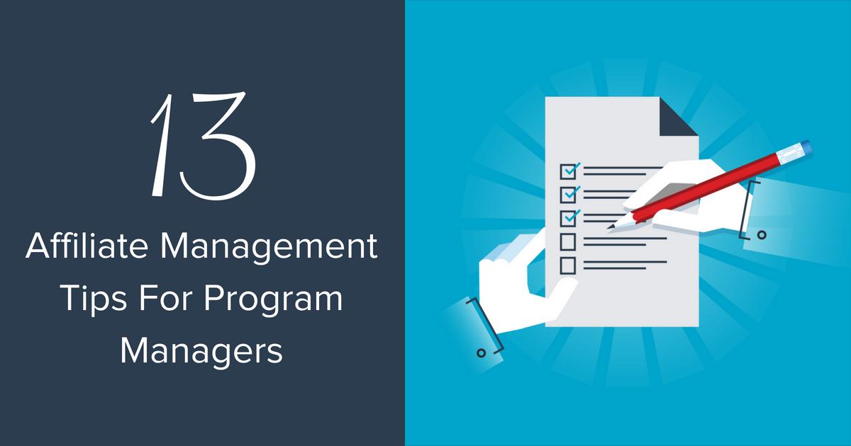 Affiliate Management Blog Banner Image