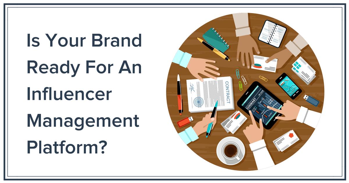 Influencer Management Platform Banner