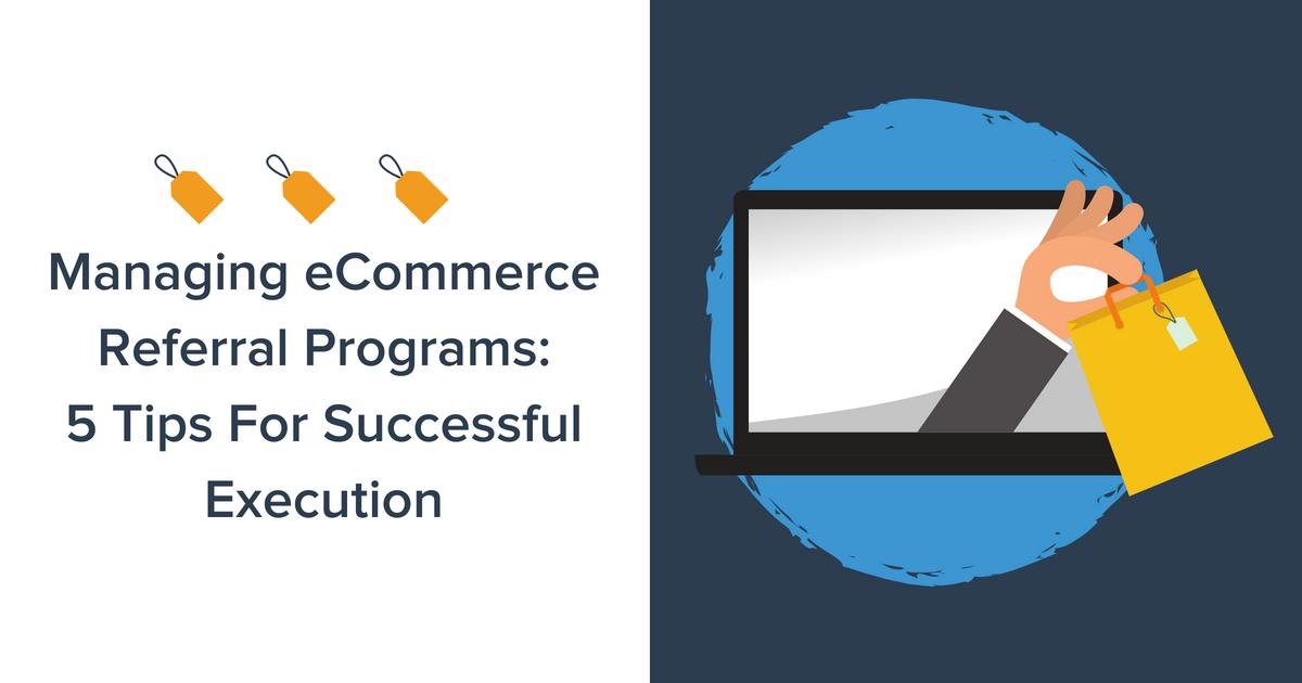 eCommerce Referral Programs Blog Banner