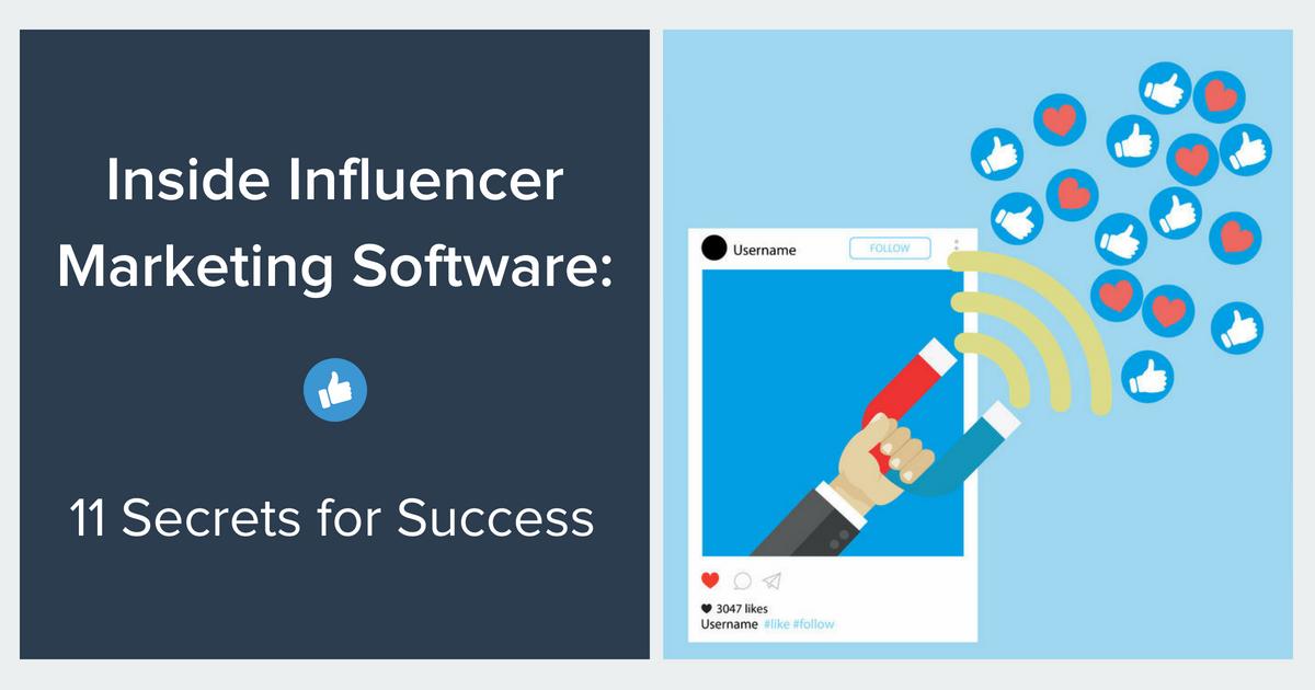 Influencer Marketing Software Blog Banner