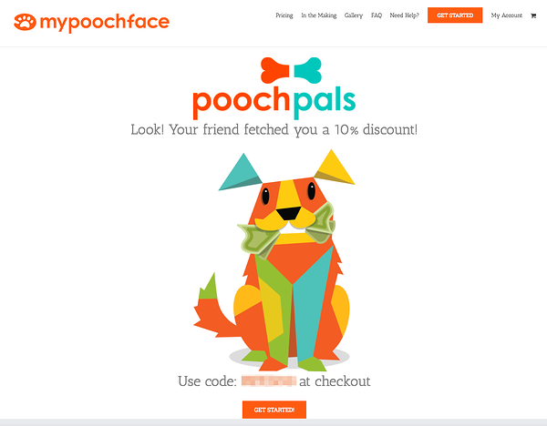referral marketing examples mypoochface