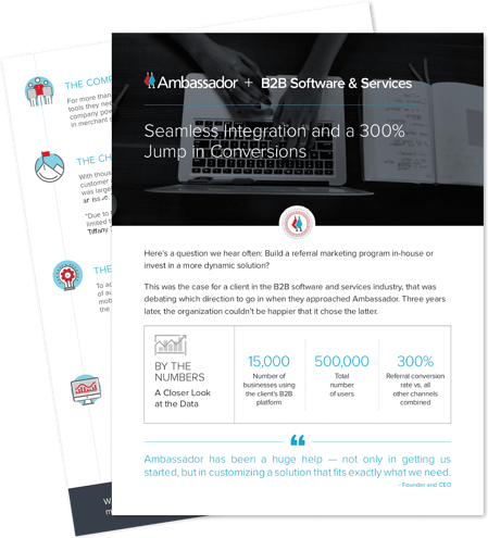 Case Study for B2B Software Services