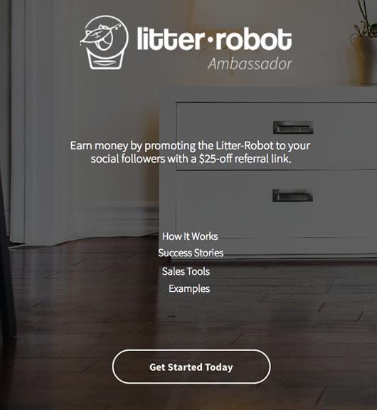 Litter-Robot's chosen influencer marketing platform