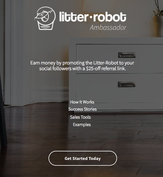 Litter-Robot's chosen influencer marketing platform