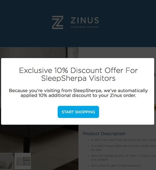 example-zinus-affiliate-marketing.jpg