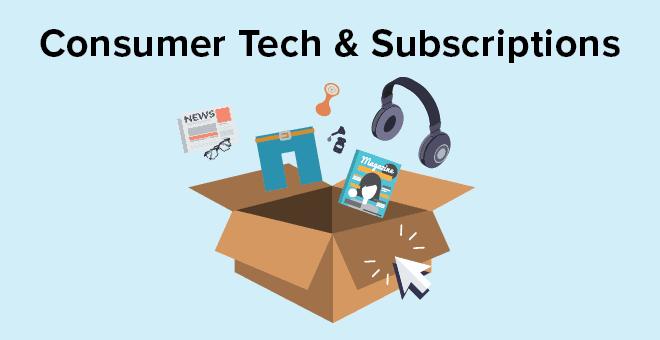 Consumer Technology & Subscriptions Referral Program