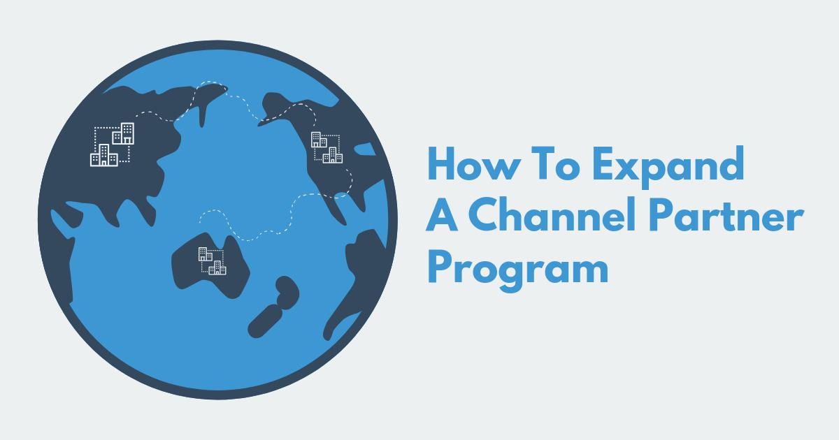 Channel Partner Program Blog Banner Image