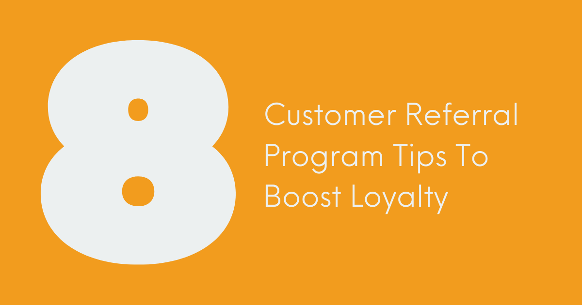 Customer Referral Program Banner