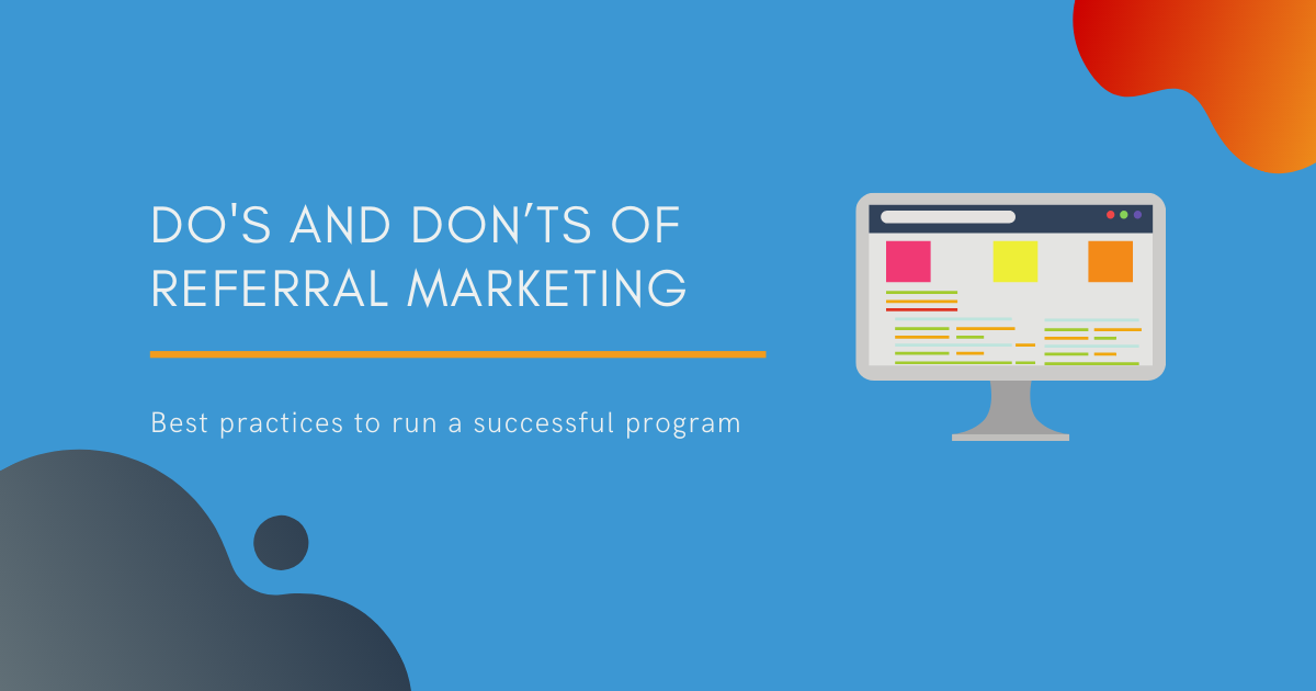 Dos and Don'ts of Referral Marketing Blog Banner