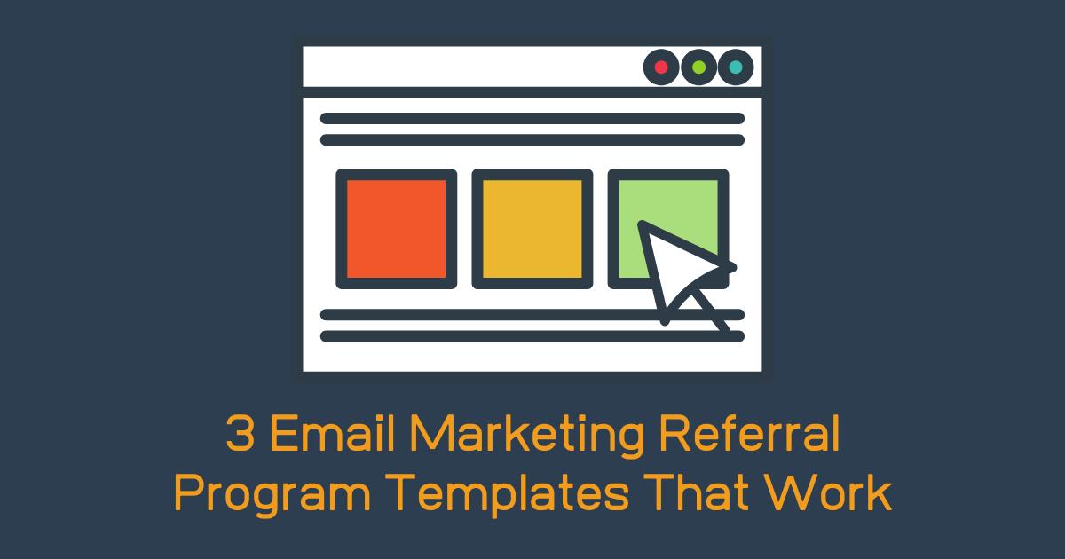 Email Marketing Referral Program Banner Image