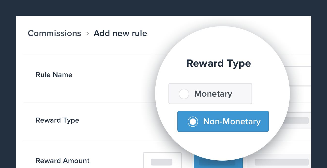 affiliate teired rewards