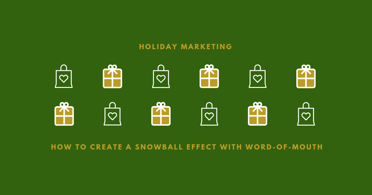 Holiday Marketing WOM Blog Banner
