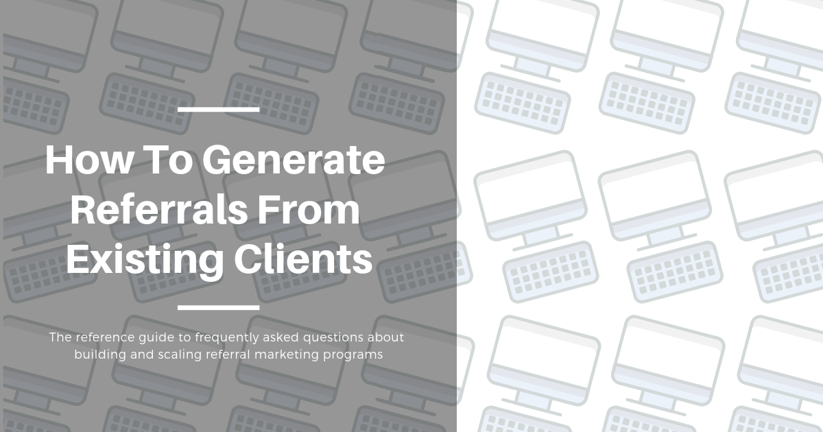 How to Generate Referrals Blog Banner Image