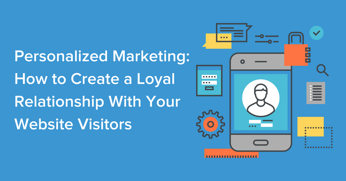 Personalized Marketing Blog Banner Image
