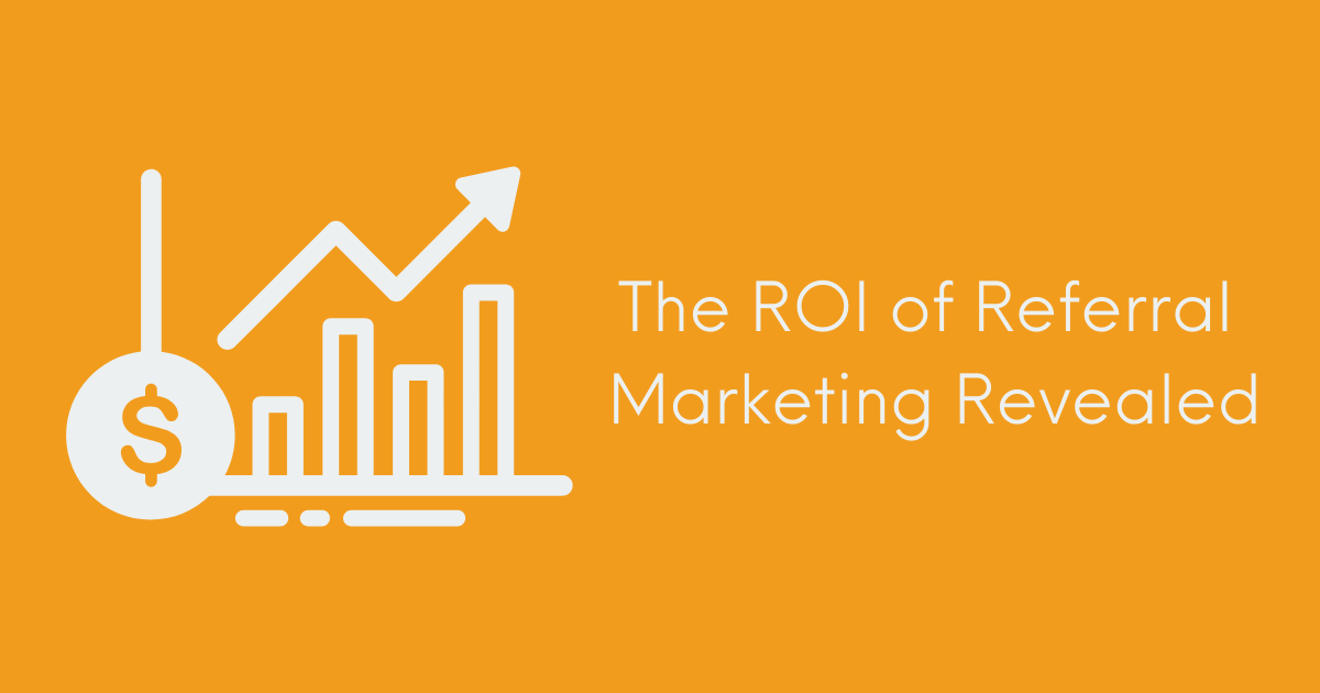 ROI of Referral Marketing Banner