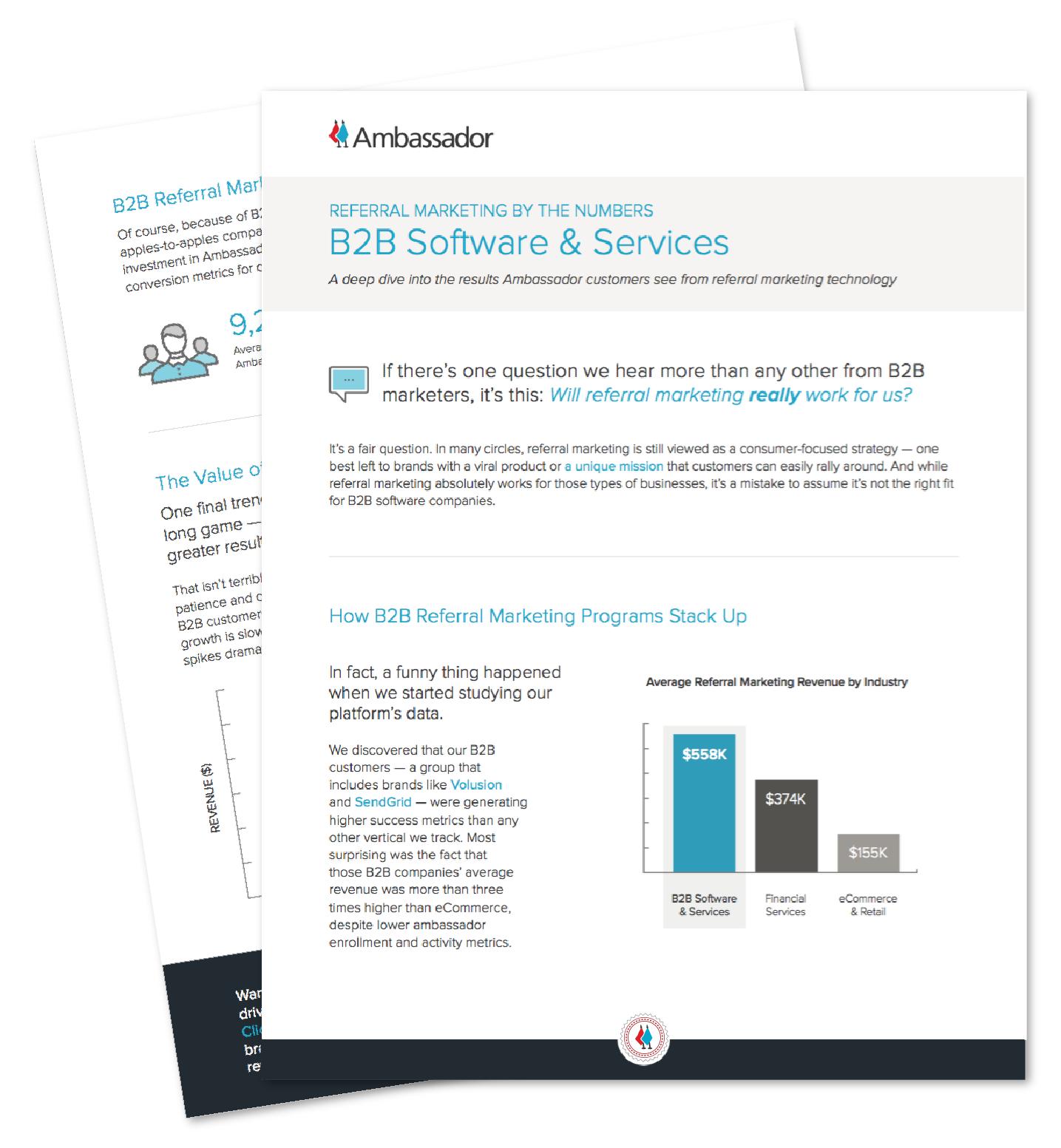 B2B Software & Services Referral Marketing Report