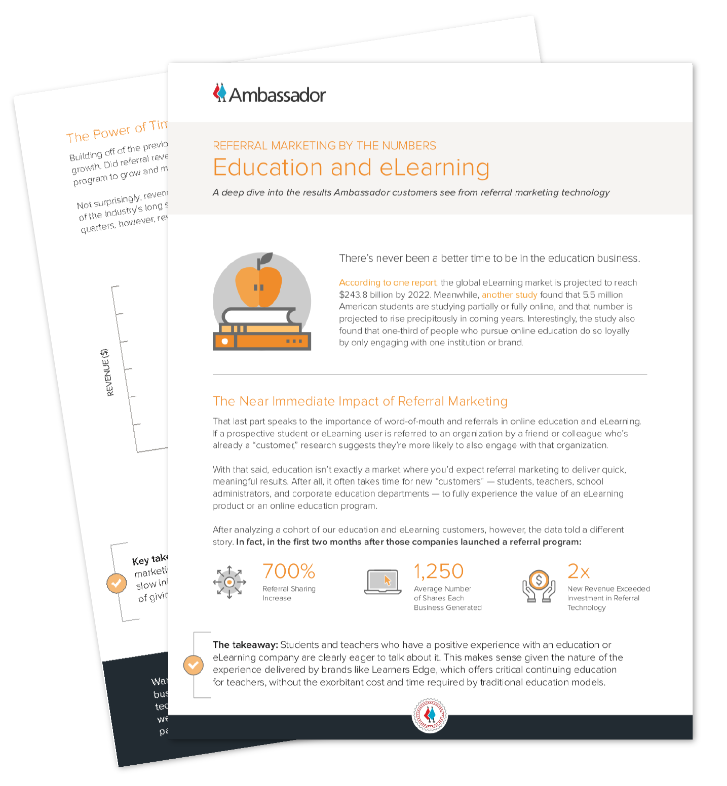 Education & eLearning Referral Marketing Report