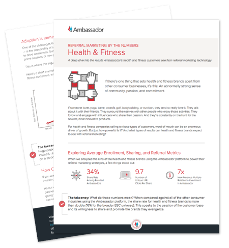 Health & Fitness Referral Marketing Report