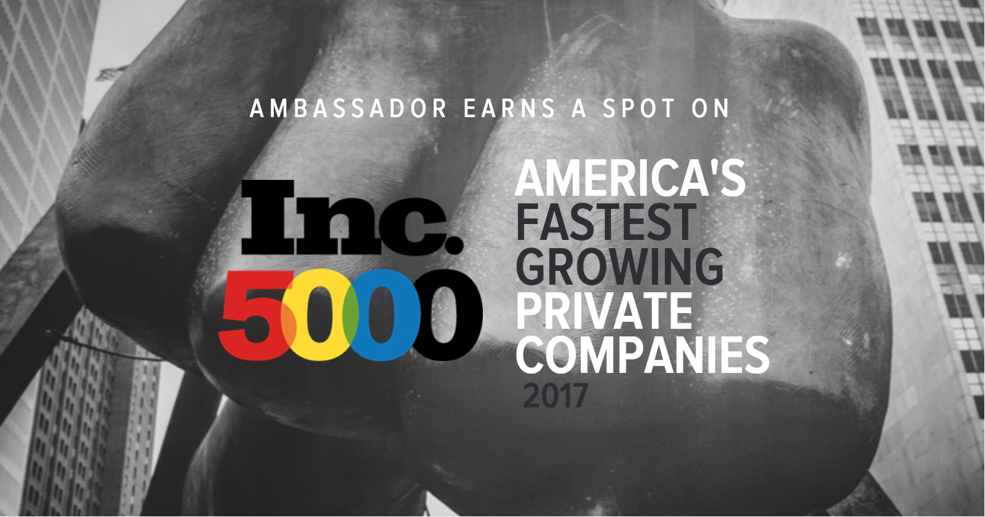 Inc. 5000 America's Fastest Growing Private Companies 2017