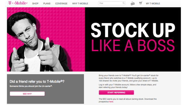 referral marketing examples t-mobile