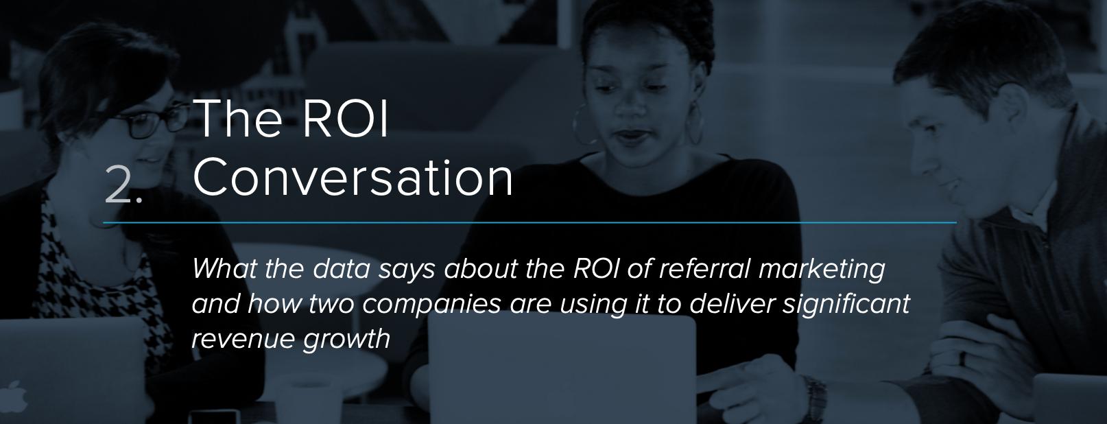 ROI of referral marketing
