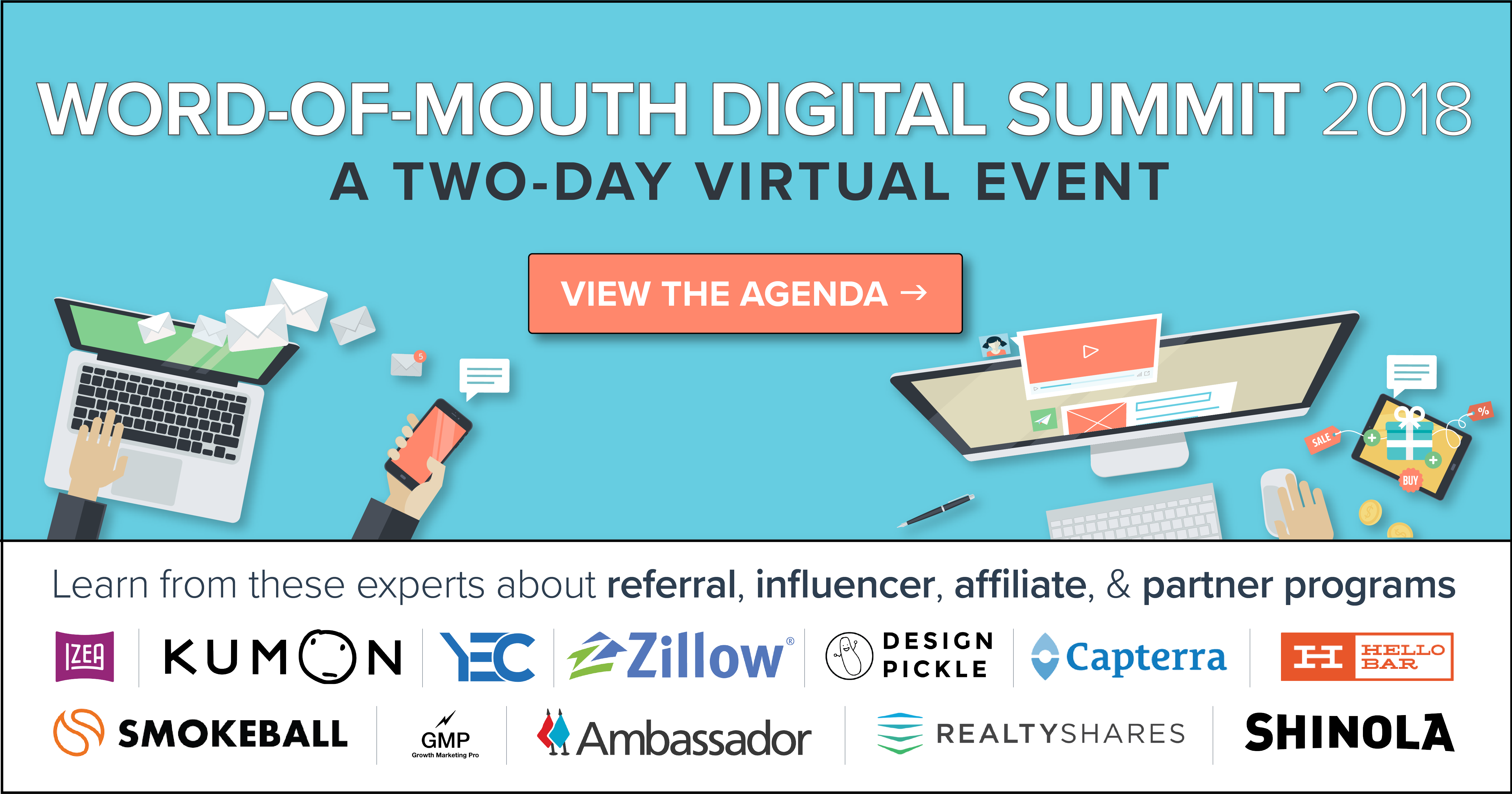 Word-of-Mouth Digital Summit Banner Image