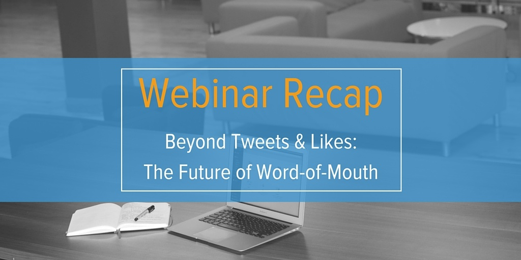 Premise Indicator Words: Beyond Tweets & Likes: The Future Of Word-of-Mouth