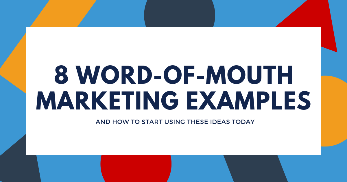 Word-of-Mouth Marketing Examples Blog Banner Image