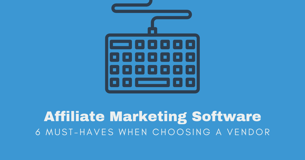 affiliate marketing software banner image