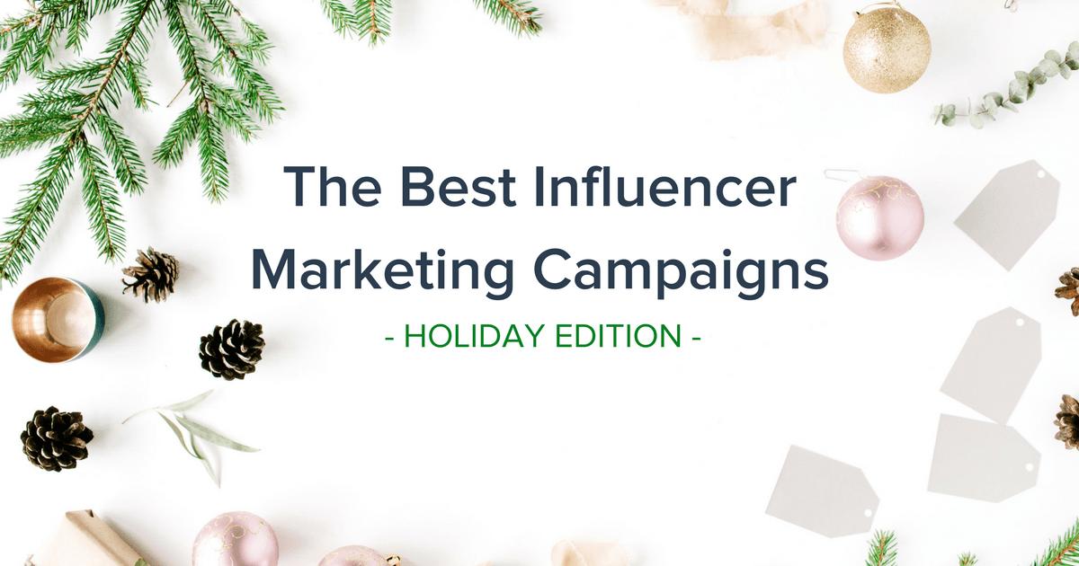 Best Influencer Marketing Campaigns Banner
