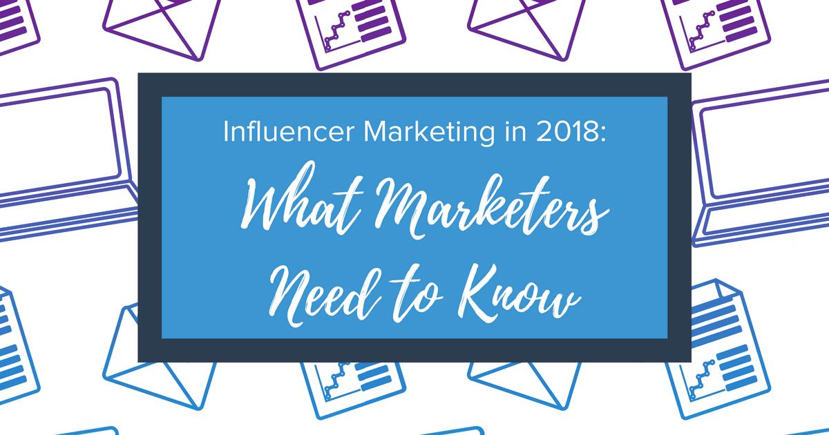 Influencer Marketing 2018 Banner