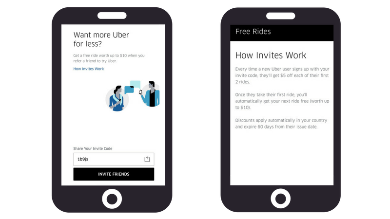 referral program examples uber