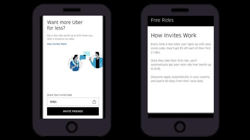 referral program examples uber