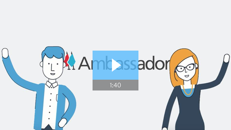 Ambassador Referral Software Video