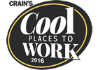 2016 Crain's cool places to work