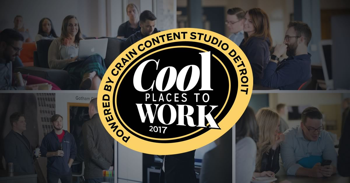 "For the 2nd Consecutive Year, Ambassador Named To ""Cool Places to Work"" by Crain's Detroit"